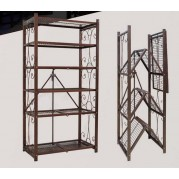 5層網式折疊架